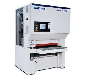 Povrchová úprava kovových dielcov pomocu brúsky Cms